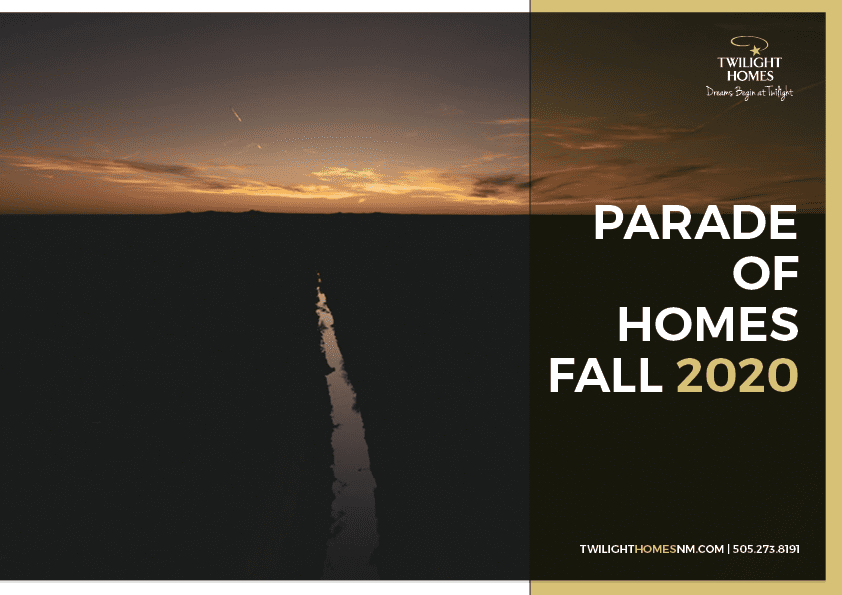 2020 Fall Parade of Homes Guide